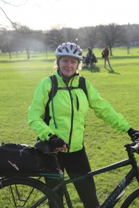 Edinburgh Electric Bike Tours - Alexis Cameron Cycle Trainer